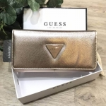 GUESS FACTORY WOMEN'S SAFFIANO LONG WALLET free กล่องแบรนด์