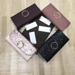 CHARLES & KEITH Circular Detail Wallet free ถุงผ้าแบรนด์