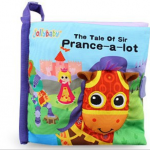 หนังสือผ้า The tale of sir Prance-a-lot by Jolly Baby