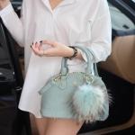 KEEP Milany Python handbag ทรง alma สุด Hot สีเข้าใหม่ Mint green