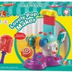 ชุดเล่นแป้งโดว์ Lovely Pop Maker (ทำไอติม+อมยิ้ม แป้งโดว์)
