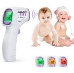 [ลด 50%] เครื่องวัดอุณหภูมิและวัดไข้เด็ก ดิจิตอล จอเปลี่ยนสีตามอุณหภูมิไข้