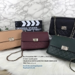 CHARLES & KEITH QUILTED CHAIN SHOULDER BAG *free ถุงผ้าแบรนด์