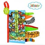 หนังสือผ้า Rain Forest Tail by Jollybaby
