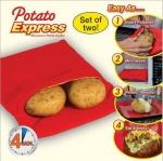 Potato Express ถุงอบผักหัว อบมันฝรั่งใน 4 นาที ด้วยไมโครเวฟ