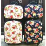 """กระเป๋าเดินทางชุด set 2 ใบ 16""""/12 นิ้ว ราคา 1,290 บาท (Ems+90)"""