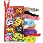 หนังสือผ้า Kitty Tail by Jollybaby