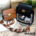 MARCS Push-Lock Handbag With Straps
