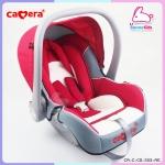 คาร์ซีทแบบกระเช้าสีแดง Camera Baby Carseat