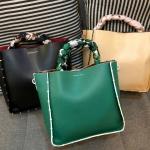 Charles & Keith Scarf Wrapped Handle Bag มี 3 สีให้เลือกค่ะ