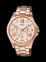 นาฬิกาข้อมือ CASIO SHEEN MULTI-HAND รุ่น SHE-3806PG-9A