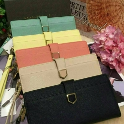 CHARLES & KEITH Long Wallet Pastel Collection With Wristband