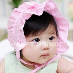 HT013••หมวกเด็ก•• / หมวกองค์หญิงน้อยสีชมพู