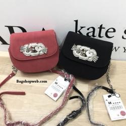 HOT PROMOTION - ZARA Leather Detail Crossbody Bag