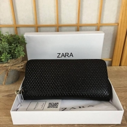 ZARA Classic Pu Leather Zipper Wallet