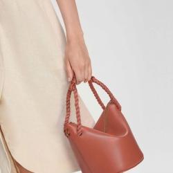 CHARLES & KEITH Rope Handle Handbag free ถุงผ้า มี 4 สีให้เลือกค่ะ
