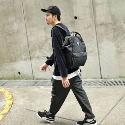 Anello All Black Limited Edition Backpack