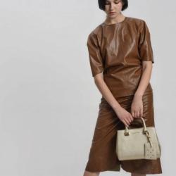 CHALRES & KEITH Large Structured City Bag free ถุงผ้า *สินค้า outlet มี 4 สีให้เลือกค่ะ