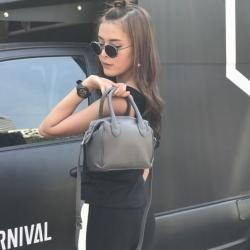 กระเป๋า Amory Leather Bag Mini Bowling Dark Grey Limited Edittion