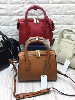 CHARLES & KEITH DOUBLE ZIP STRUCTURE BAG