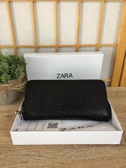 ZARA Classic Pu Leather Zipper Wallet