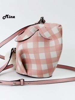 Mine Luv Bunny Mini Bag มายด์กระเป๋าหนังแท้ ทรงกระต่าย