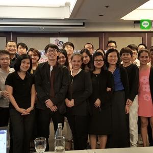 อาจารย์ใบตองสอนการตลาดออนไลน์ สอนขายสินค้าออนไลน์ และ สอนธุรกิจออนไลน์ ให้ผู้ประกอบการกรมส่งเสริมอุตสาหกรรมเตรียมAECและไทยแลนด์4.0(Thailand4.0)