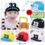 หมวกแก๊ป หมวกเด็กแบบมีปีกด้านหน้า ลาย 33 (มี 5 สี) thumbnail 1