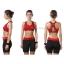 สปอร์ตบรา ชุดกีฬาผู้หญิง รุ่นซิปหน้า รองรับแรงกระแทกระดับ 4 ใส่สบาย - สีแดง thumbnail 3