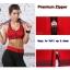 สปอร์ตบรา ชุดกีฬาผู้หญิง รุ่นซิปหน้า รองรับแรงกระแทกระดับ 4 ใส่สบาย - สีแดง thumbnail 5