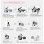 สติกเกอร์ Baby on Board งานเกาหลี สีขาว thumbnail 3