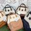 กระเป๋าเป้ Anello Polyurethane Leather Rucksack รุ่น Mini Two-Tone ใหม่ล่าสุด!!! ดังจนฉุดไม่อยู่ในหมู่วัยรุ่นของประเทศญี่ปุ่นมาแล้วคร้า... วัสดุหนัง pu หนังนิ่ม กันน้ำได้ ภายในมีช่องเล็ก 2 ช่อง เปิดปิดด้วยซิปคู่ ปากกระเป๋าเป็นโครงสะดวกต่อการหยิบจับของภายใ thumbnail 19