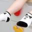 SK014••ถุงเท้าเด็ก•• โบว์ดำ (พื้นดำ-ข้อสั้น) thumbnail 5