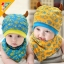 หมวกและผ้ากันเปื้อนเด็กอ่อนผ้ายืด ปีศาจน้อย thumbnail 2