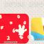 HT398••หมวกเด็ก•• / หมวกบีนนี่-เลขคู่ (สีแดง) thumbnail 4