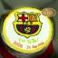 เค้กสโมสรฟุตบอลบาร์เซโลน่า (Barcelona FC Cake) thumbnail 1