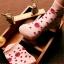 ถุงเท้าเด็กเล็ก หญิง 1-3 ปี มีกันลื่น พิมพ์ลายการ์ตูน แบรนด์ญี่ปุ่น thumbnail 6