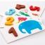 ของเล่นชุดสอนนับเลขไม้สวนสัตว์ Arithmetic Digital Card thumbnail 7