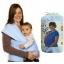 ผ้าอุ้มทารก เป้ผ้าอุ้มเด็ก Moby Wrap เบาสบาย กระจายน้ำหนัก thumbnail 11