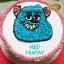 เค้กซัลลี่ (Sullivan Hairy Monster Cake) thumbnail 1