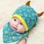 หมวกและผ้ากันเปื้อนเด็กอ่อนผ้ายืด ปีศาจน้อย thumbnail 5