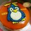 เค้กนกเพนกวิน (Penguin Cake) thumbnail 1