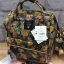 Anello x Legato Largo Botanical & Cat nylon Cap fasteners Backpack mini thumbnail 4