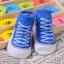 ถุงเท้าเด็กอ่อน 0-12 เดือน พิมพ์ลายรองเท้าผ้าใบ พื้นมีกันลื่น thumbnail 9
