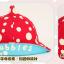 HT460••หมวกเด็ก•• / หมวกปีกกว้าง-bubbles (สีเทา) thumbnail 5