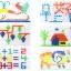 กระดานปักหมุดโมเสก 296 Pcs Creative Mosaic for Smart Kids thumbnail 4