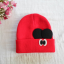 HT309••หมวกเด็ก•• / หมวกไหมพรมหูตั้ง (สีแดง) thumbnail 6