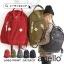 กระเป๋า Anello rucksack nylon day pack back 2017 สีดำ ราคา 1,290 บาท Free Ems thumbnail 8