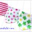 BIB031••เซตผ้ากันเปื้อน•• / ลายใบไม้+ดาว (Happiness Care) thumbnail 1