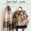 Anello x Legato Largo Botanical & Cat nylon Cap fasteners Backpack mini thumbnail 11